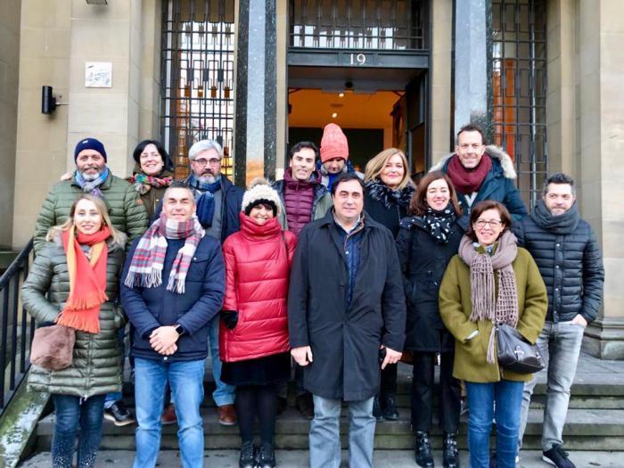 Mariscal participa en la primera promoción del año del Grupo de Ciudades Patrimonio en el Reino Unido