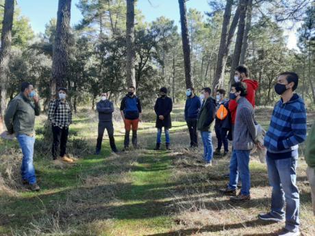 El proyecto 'Resetas' realiza una visita técnica a Almodóvar del Pinar