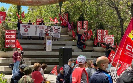 UGT reclama en las calles de la región que el Gobierno cumpla con la clase trabajadora