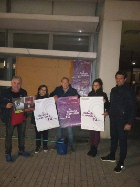 Unidas Podemos inicia la campaña en Beteta para visibilizar la España Vaciada