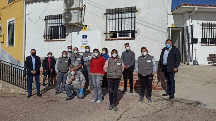 La Junta facilita la contratación de diez personas en Campos del Paraíso a través del programa RECUAL