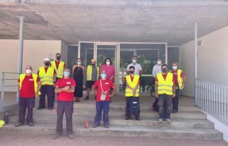 Se facilita la contratación de diez personas en Santa María del Campo Rus a través del programa RECUAL