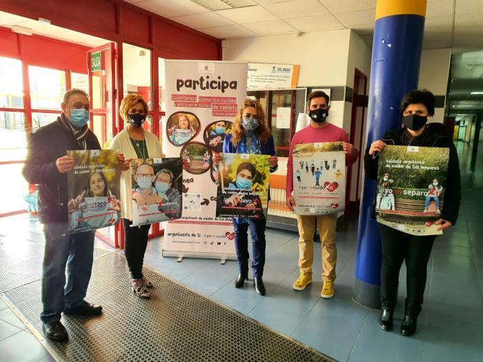 Se reparten más de 3.000 mascarillas a los 36 institutos de la provincia, dentro de la campaña #YoMeCuidoXTi