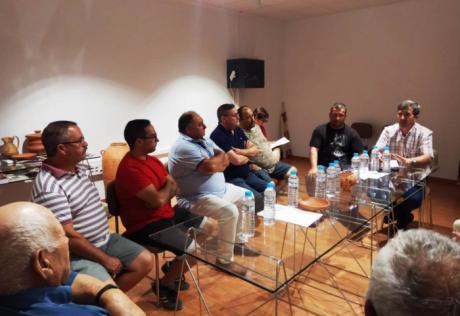 La Junta solicitará ayuda al Gobierno de España para la zona afectada por el incendio de Barchín del Hoyo