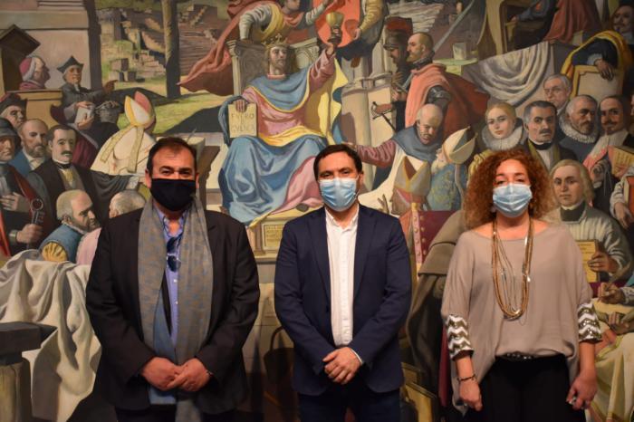 """Martínez Chana y el grupo Cuenca Nos Une ven en el Parque Científico-Tecnológico """"una gran oportunidad para la capital"""""""