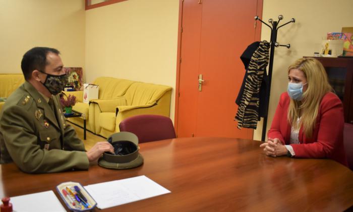 La Junta traslada al nuevo subdelegado de Defensa en Cuenca su compromiso para seguir trabajando de manera conjunta