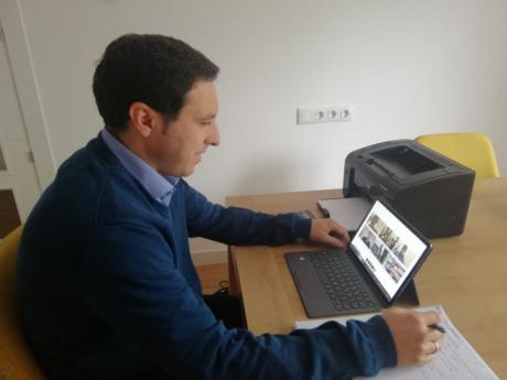 """Martínez Chana asevera que la Diputación """"sumará esfuerzos"""" para afrontar la situación económica tras el Covid-19"""
