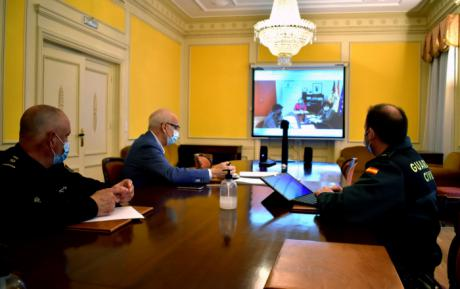Se reúne la mesa de Coordinación Operativa Provincial para el control y seguimiento de las restricciones Nivel 3 reforzado en la provincia