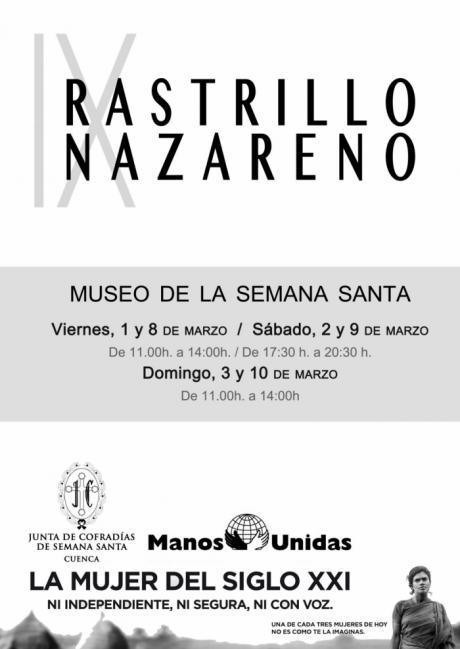 El Museo de la Semana Santa acoge la novena edición del Rastrillo Nazareno