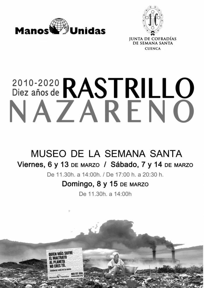 Junta de Cofradías y Manos Unidas organizan la décima edición del Rastrillo Nazareno
