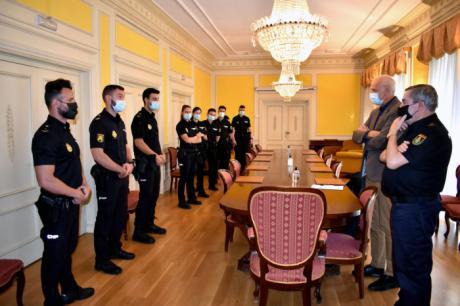 Doce nuevos policías se incorporan a la Comisaría Provincial de Cuenca
