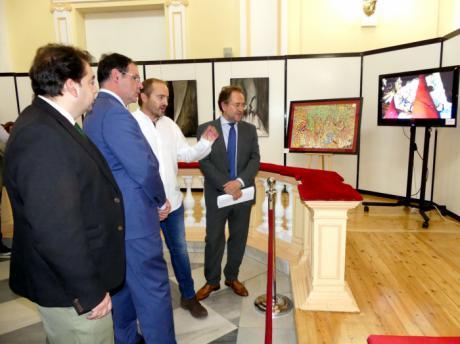 La Diputación abre sus puertas a 75 años de historia de la Hermandad de San Pedro Apóstol