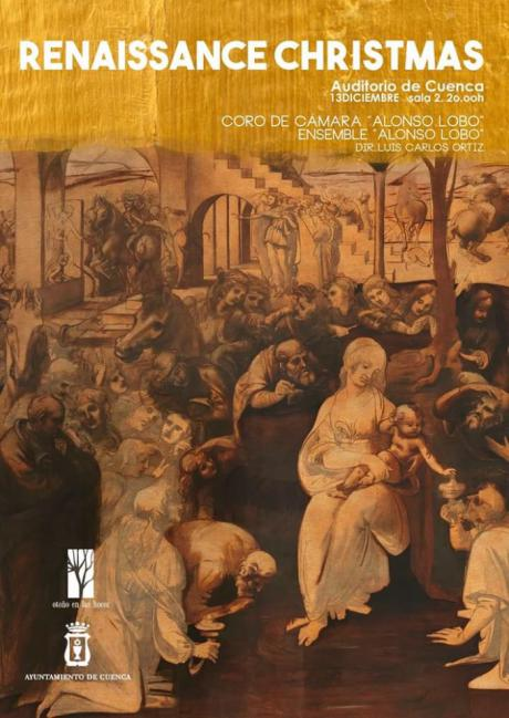 Cuenca revivirá la navidad renacentista en el Teatro Auditorio de Cuenca con el Coro y el Ensemble Alonso Lobo