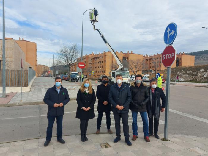 La segunda fase de renovación de las luminarias de la ciudad alcanza 5.500 puntos de luz con una inversión de 1,5 millones de euros