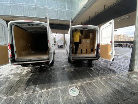 Sanidad ha distribuido más de 830.000 artículos de protección para profesionales sanitarios durante esta semana
