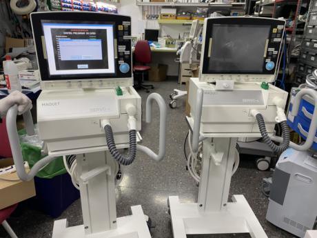 Se distribuyen 17 equipos de respiradores y de ventilación mecánica en centros hospitalarios de la región