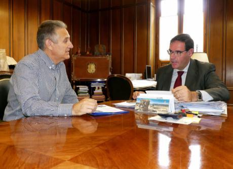 Diputación colaborará en el equipamiento del futuro albergue del Camino de Santiago en La Alberca de Záncara