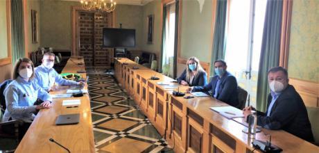 Buena sintonía entre las Instituciones y el Club Cuenca Motor 4x4 para potenciar una nueva edición del Rallye TT de Cuenca