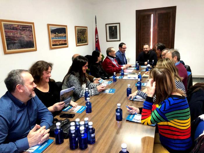 Diputación pone a disposición del futuro parque geológico de La Serranía su trabajo con el IGME de los últimos siete años