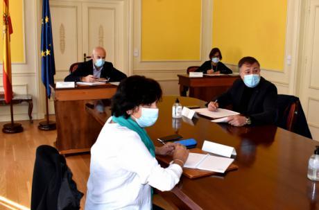 Primera reunión del Centro de Coordinación Operativa Provincial del Covid-19 tras el nuevo estado de alamara