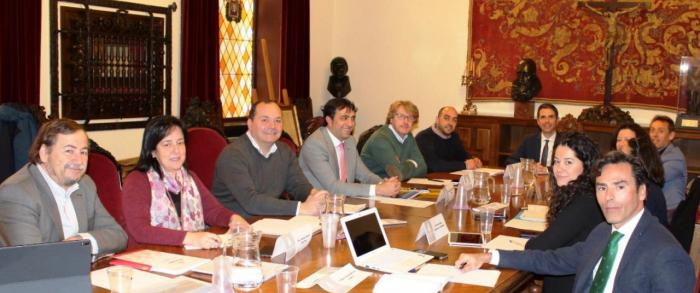Gómez Buendía asiste a la reunión de concejales de Hacienda del Grupo de Ciudades Patrimonio de la Humanidad