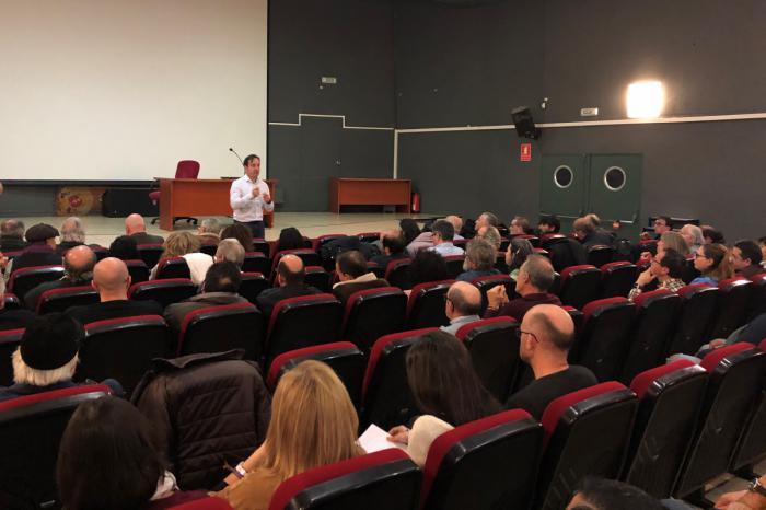 Gran afluencia en la primera reunión para poner en marcha un Consejo de Cultura