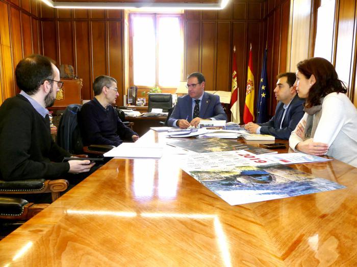 Diputación abre nuevas vías de colaboración con la UCLM a través del Instituto de Tecnología, Construcción y Telecomunicaciones