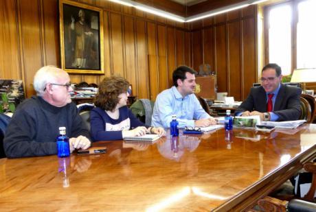 Prieto felicita a Azcoitia en su nueva etapa como secretario territorial de UGT de Cuenca