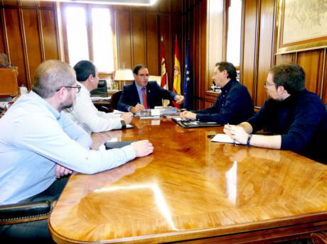 Prieto recalca la voluntad de la Diputación de colaborar con el Colegio de Ingenieros Agrónomos de Cuenca