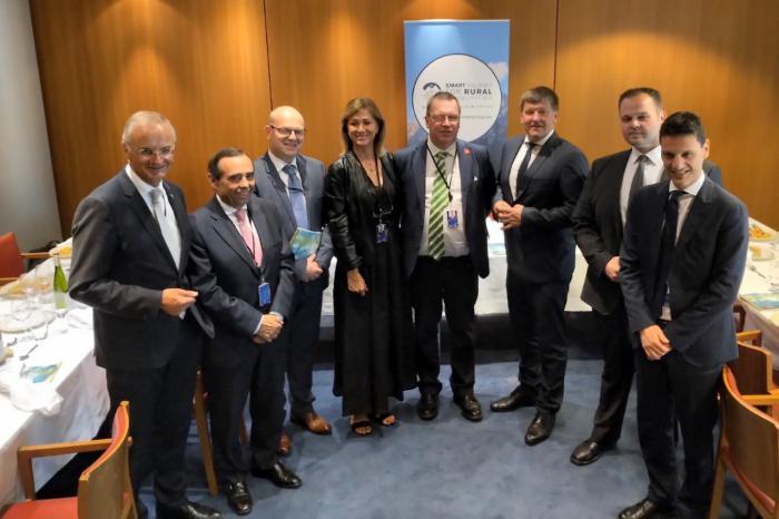 La red SSPA entra a formar parte del Intergrupo Smart Rural Communities del Parlamento Europeo