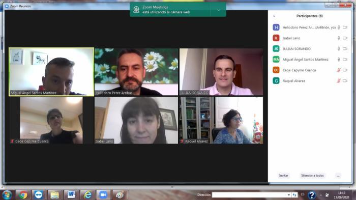 Invierte en Cuenca analiza con responsables de comunicación y sectores las iniciativas del programa