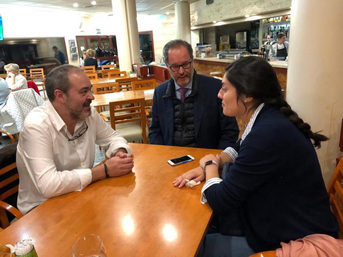 """Jiménez: """"El PP es el único partido que apuesta por una bajada de impuestos para reactivar la economía y crear empleo, que es precisamente lo que necesita Cuenca"""""""