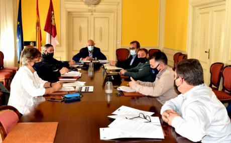 El subdelegado del Gobierno preside la reunión del Centro de Coordinación Operativa Provincial con motivo de la finalización del Estado de Alarma