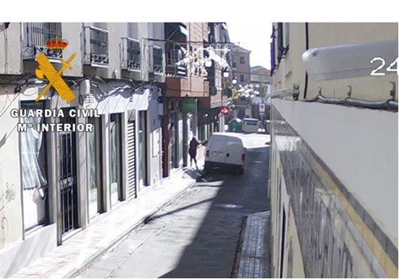 La Guardia Civil ha detenido a dos personas por 30 delitos cometidos en Toledo y Madrid