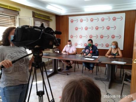 UGT pide incrementar los medios para prevenir incendios forestales y un nuevo convenio en Geacam