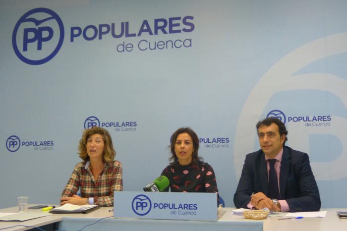 Moya pide a Dolz e Isidoro que se pronuncien sobre el pacto Sánchez-Podemos y expliquen qué beneficios podría reportar a Cuenca
