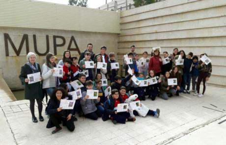 El Museo de las Ciencias y el Museo de Paleontología celebran los 40 años de la Constitución Española con una plantación de árboles