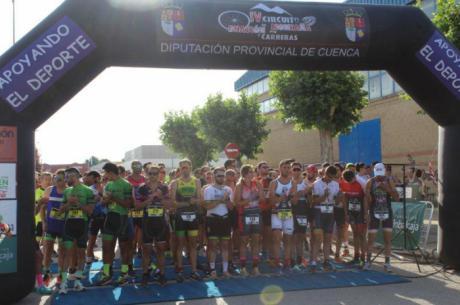 Israel Fernández y Cristina Belmar vencen en el VI Duatlón de Quintanar del Rey
