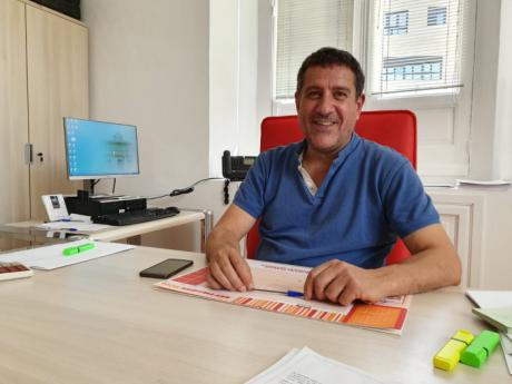 Santiago Gómez, diputado de Deportes