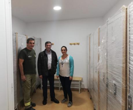 El delegado de Desarrollo Sostenible visita la demarcación de los Agentes Medioambientales de Villalba de la Sierra ubicada en Sotos