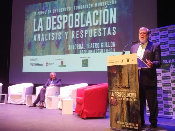 La SSPA traslada sus propuestas para frenar la despoblación en una jornada que busca analizar sus claves en Astorga