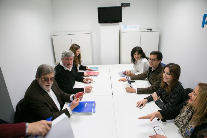 La Red SSPA se reúne con el Partido Popular para exponer su estrategia para frenar la despoblación