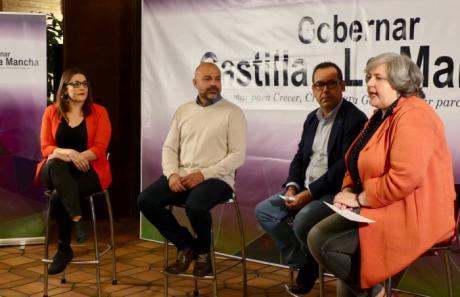 PODEMOS e IU presentan su proceso de confluencia en Castilla-La Mancha para 2019
