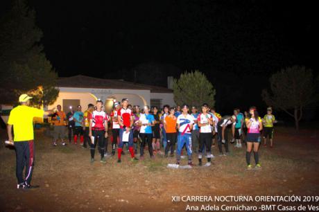 Javier García fue el ganador de la XII Carrera Nocturna de Orientación en Motilla del Palancar