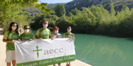 """""""Cuenca se moja contra el cáncer"""": el reto de la AECC"""