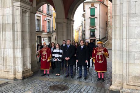 La Corporación municipal asiste a la misa en la Catedral en la festividad de San Julián, patrón de Cuenca