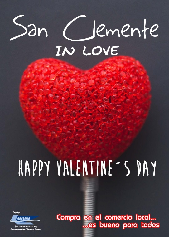 Los comerciantes de ACESANC apuestan por una campaña específica por el día de San Valentín