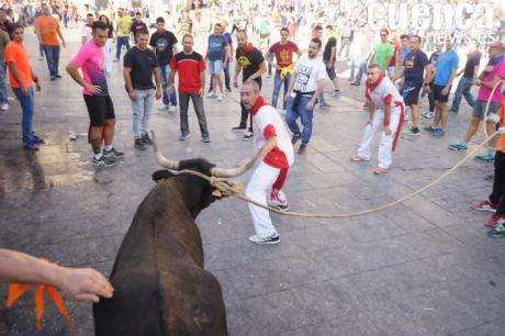 Parte de incidencias en la tercera jornada de vaquillas