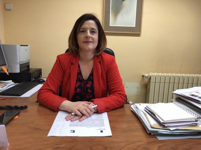 Saray Portillo, portavoz del equipo de Gobierno