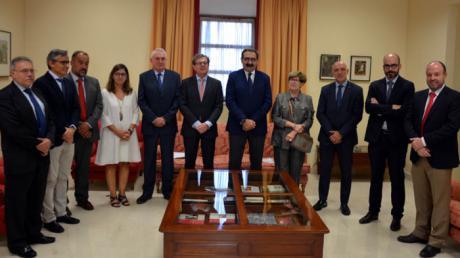Constituida la Comisión de seguimiento del convenio UCLM-Consejería de Sanidad